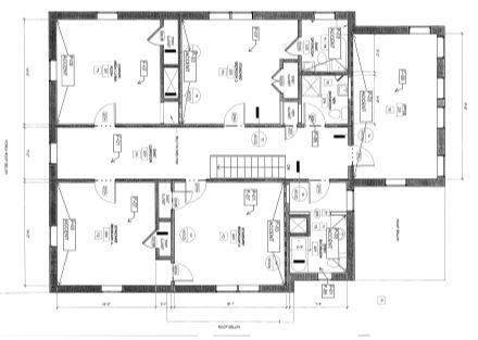 1425 Augusta Rd. 2nd Floor Plan