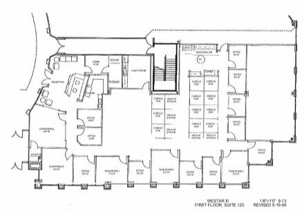 Floor Plan Ste 120