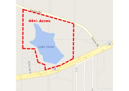 Primary Photo Lake Victor Tax Plat Map