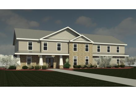 Rendering - 2 Story Structure - Lots 7 & 8