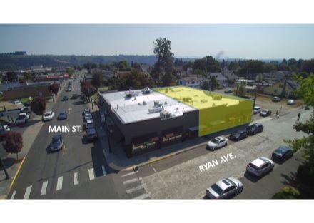 Aerial - Sumner Main Street Retail
