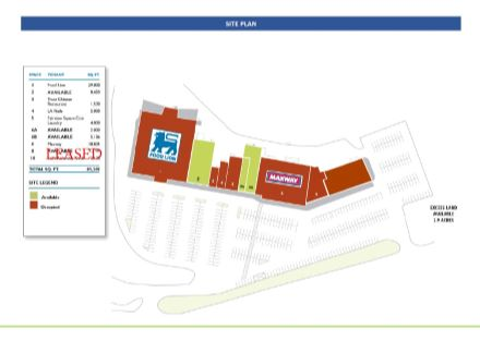 Fairview Square site plan new