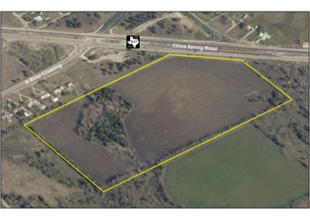 Aerial Photo - 38 Acres on China Spring Road (6-10-20)