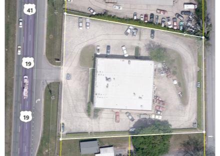 8326 Tara Blvd. Aerial View  Collision Center jpeg  snip it Capture