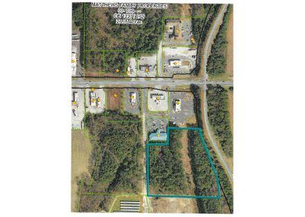 Duplin County Tax Parcel Aerial
