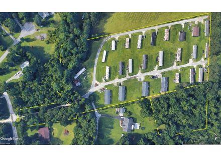 Briar Creek Park Aerial south