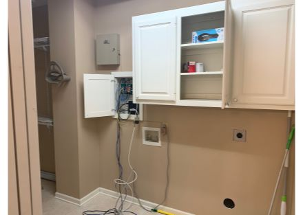 Building 1 Office storage with washer and dryer hook up