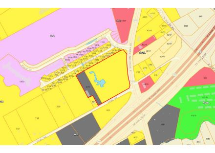Map (Zoning Wide) - 13.276 Acres on S University Parks Dr (3-8-19)
