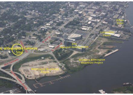 N Wilmington Gateway Skyline Aerial-rev