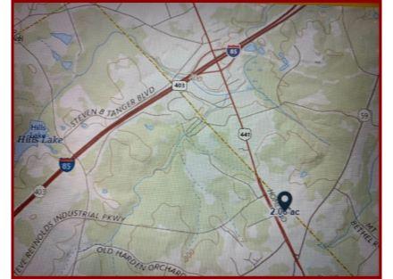Aerial Topo Map