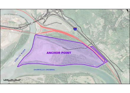 300 Acre I-5 Industrial Development Site