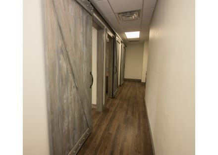 Suite 101 barn doors
