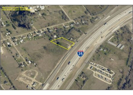 Aerial Photo - 2.05 Acres on IH-35 (1-28-20)
