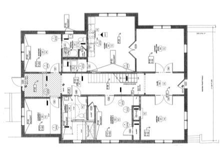 1425 Augusta Rd. 1st Floor Plan