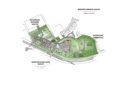 Waterford Commercial Land Site Plan