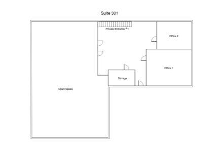 Suite 301 Floor Plan