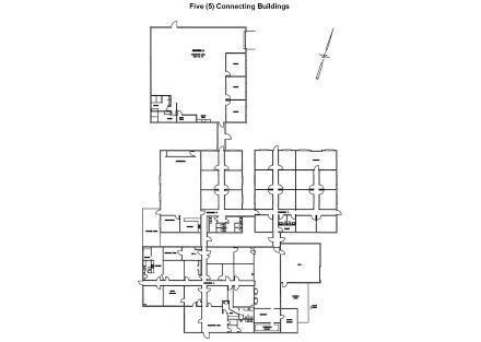 Floor Plan - 5 Connector Buildings
