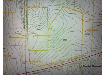 Topo Map- - GIS