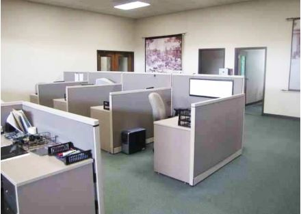 Cubicle Office Area