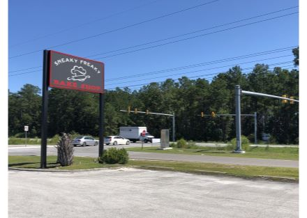 1084 NC Hwy 210 Sign