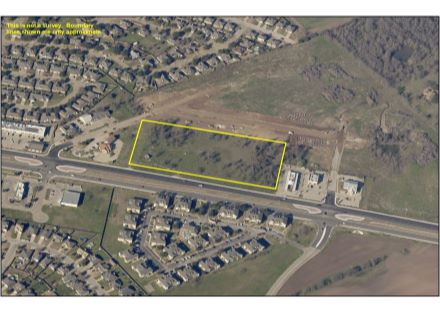Aerial Photo (Highlighted) - 6.435 Acres on China Spring Road (3-12-20)