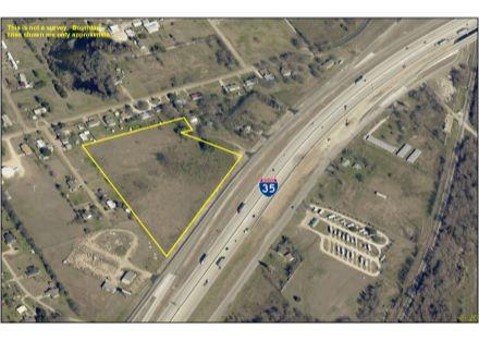 Aerial Photo - 8.173 Acres on IH-35 (1-27-20)