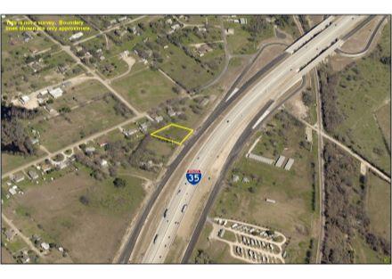 Aerial Photo - 0.499 Acres on IH-35 (2-17-20)