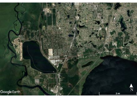 Google Earth Aerial Distant