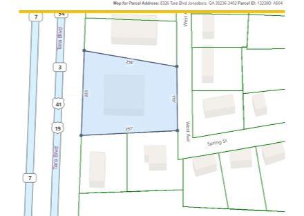 8326 Tara Blvd. Tax Plat map with Measurements jpegCapture