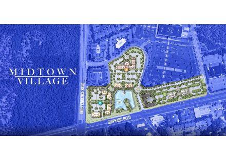 Midtown Village Site Plan Aerial