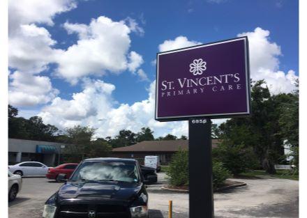 new st. vincent sign
