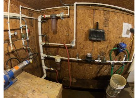 Secure filters with water systems per house
