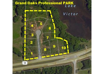 Primary Photo Grand Oaks Professional Park Tax Plat Aerial Map