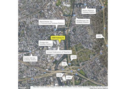 2500 Halsey Retail Map w Highways