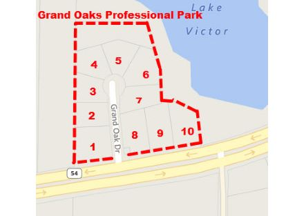 Secondary Photo Grand Oaks Professional Park Tax Plat Map