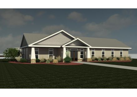Rendering - 1 Story Structure - Lot 3, also 1, 2, 4, 5, 6 & 10