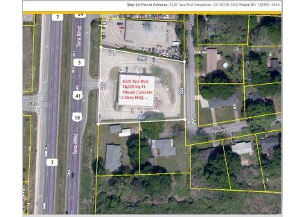 8326 Tara Blvd. Aerial View  of Bldg  jpeg Capture