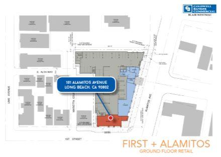 101 Alamitos Ave. Ground Floor